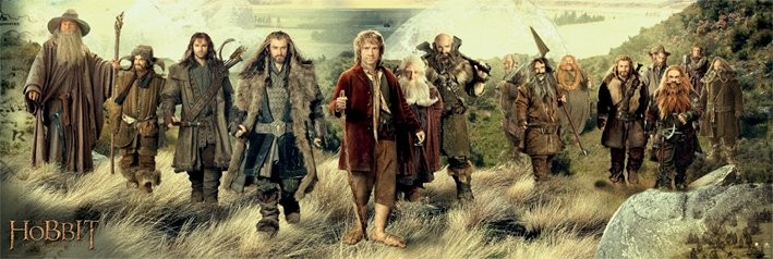 The Hobbit - cast Plakat