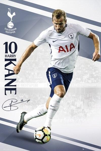 Tottenham - Kane 17/18 Poster
