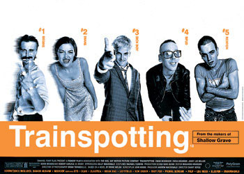TRAINSPOTTING - one sheet Poster