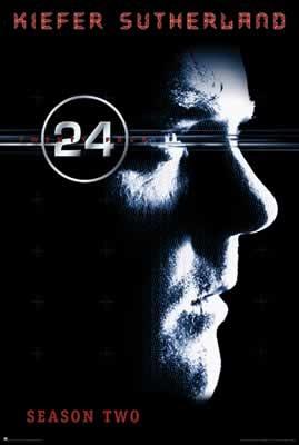 24 SEASON 2 - Kiefer Sutherland Plakát