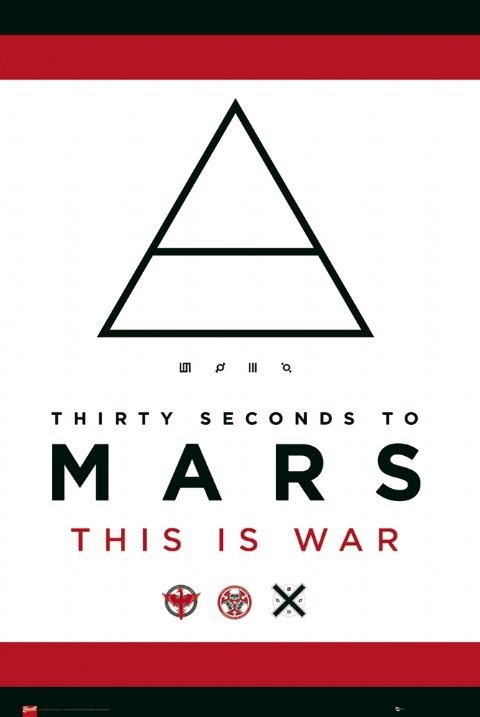 30 Second to Mars - this is Plakát