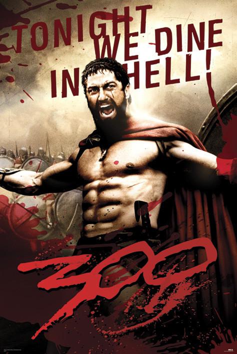 300 - Leonidas Plakát
