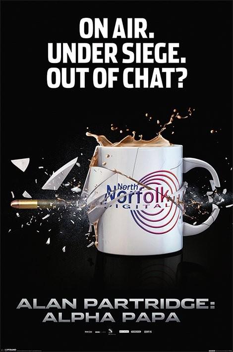 ALAN PARTRIDGE - exploding mug Plakát