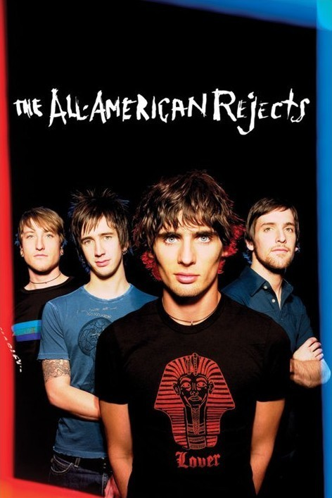 All American rejects - group Plakát