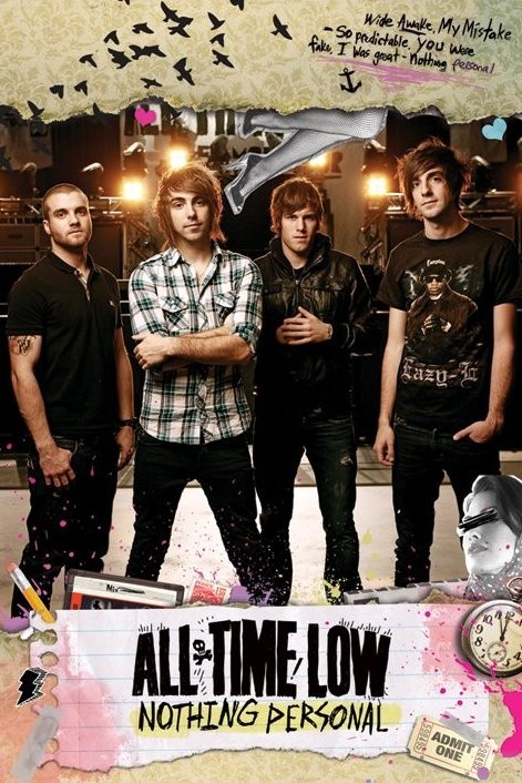 All time low - nothing persona Plakát