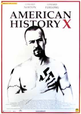 AMERIKAI HISTÓRIA X  plakát