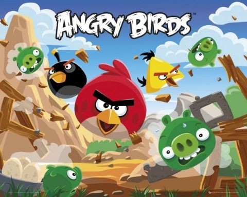 Angry Birds  Plakát