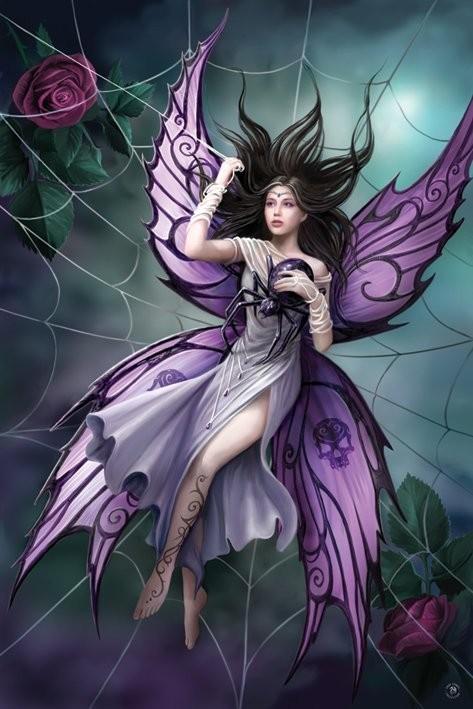 Anne Stokes - silk lure Plakát