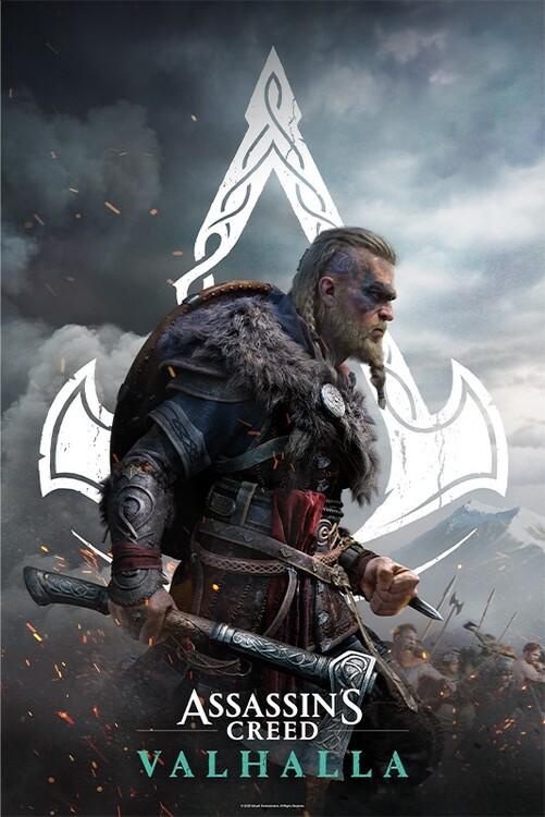 Assassin's Creed: Valhalla - Eivor Plakát