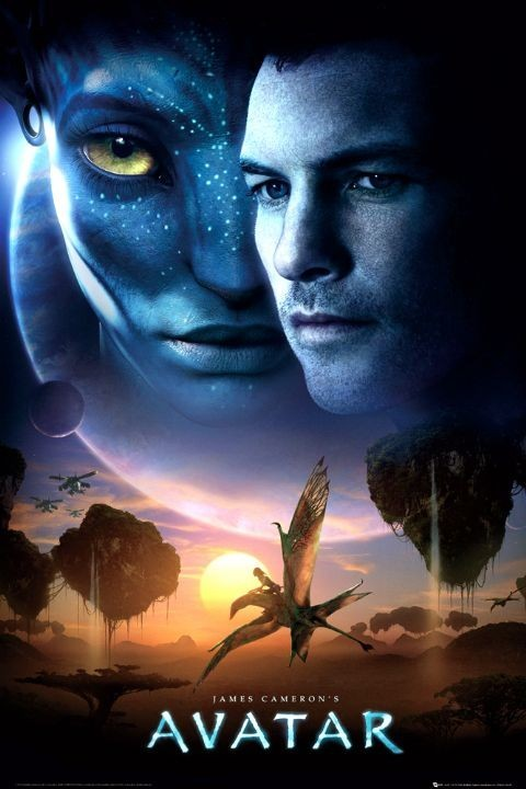 AVATAR limited ed. - one sheet sun Plakát