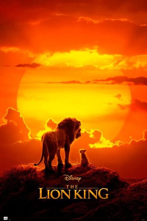 Az oroszlánkirály - One Sheet Plakát