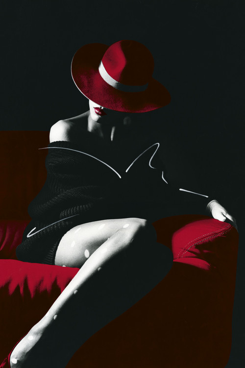 B Bahner- elegance Plakát
