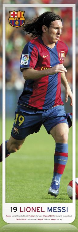 Barcelona - Messi 07/08 plakát