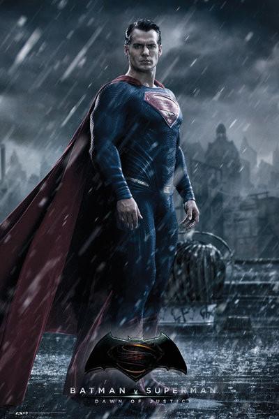 Batman Superman ellen: Az igazság hajnala - Superman Plakát