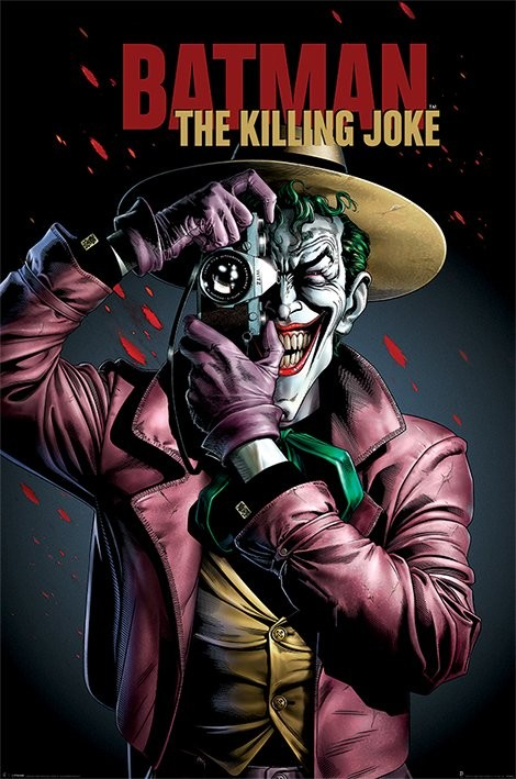 Batman - The Killing Joke Cover Plakát