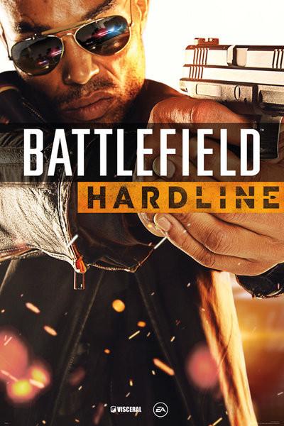 Battlefield Hardline - Cover plakát
