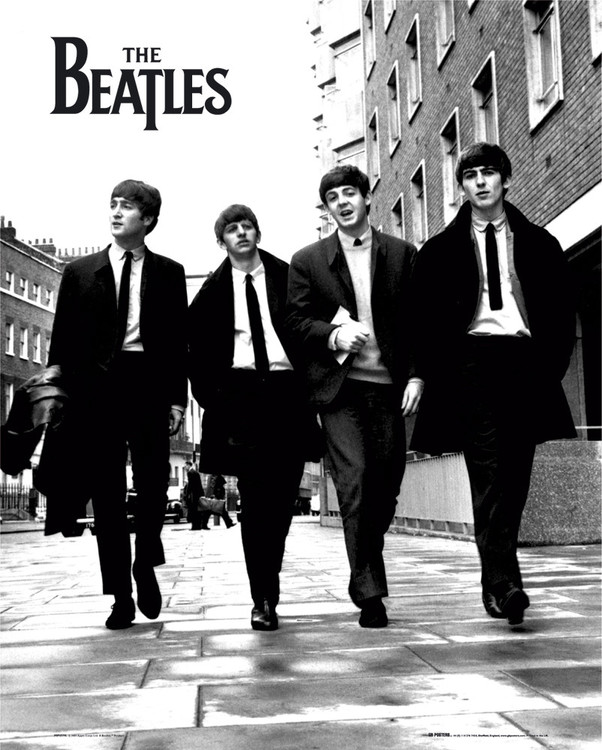 Beatles - in london Plakát