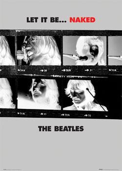 Beatles - let it be Plakát
