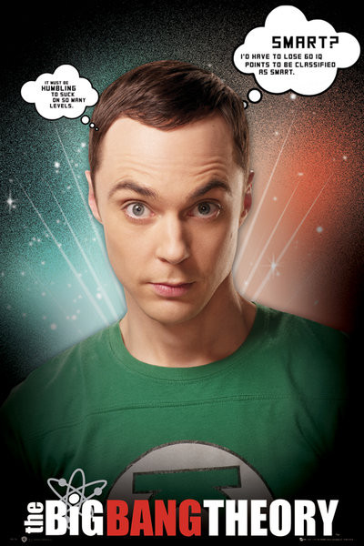 BIG BANG THEORY - sheldon quotes Plakát