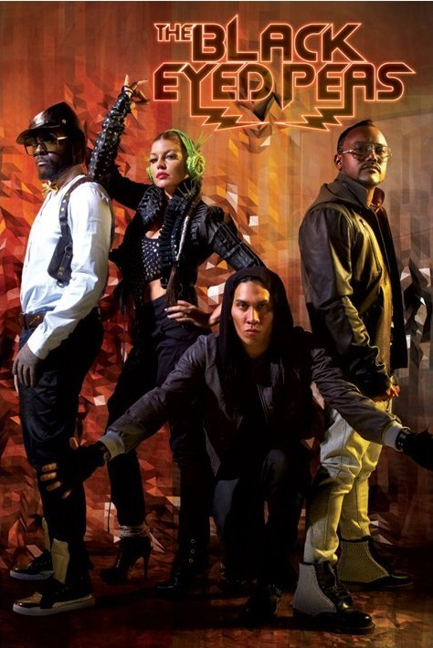 Black Eyed Peas - boom boom pow Plakát