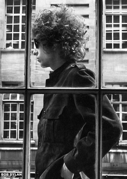 Bob Dylan - London May 1966 Plakát