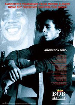 Bob Marley - Redemption song Plakát