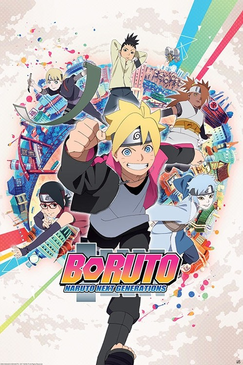 Boruto - Groupe Plakát