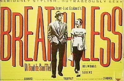 BREATHLESS - A bout de souffle Plakát