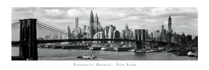 Brooklyn bridge - New York Plakát