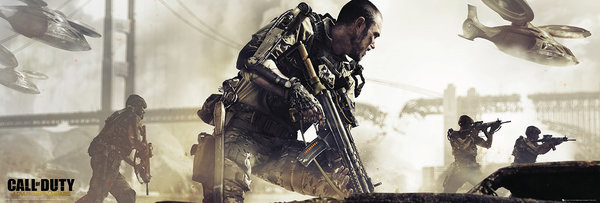 Call of Duty Advanced Warfare - Cover plakát