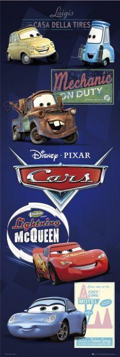 CARS - characters Plakát