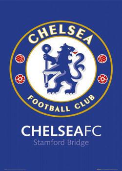 Chelsea - badge Plakát