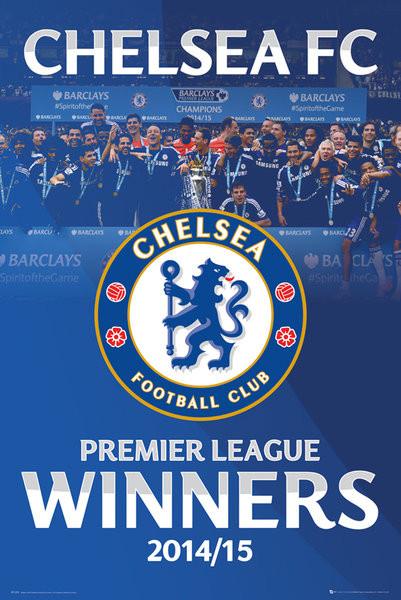 Chelsea Fc Premier League Winners 14 15 Alt Plakatok Poszterek Az Europoszters Hu
