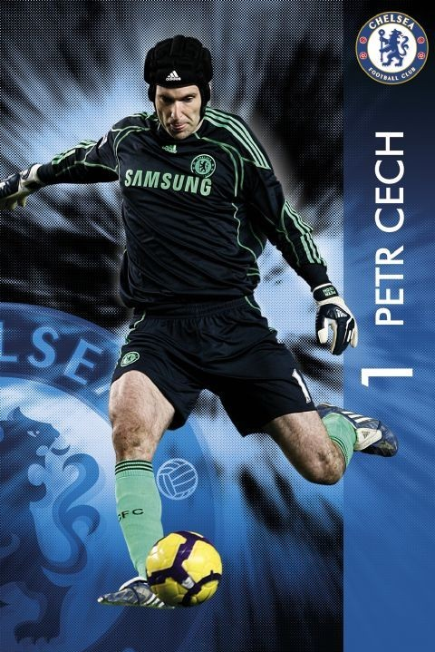 Chelsea - Petr Čech Plakát