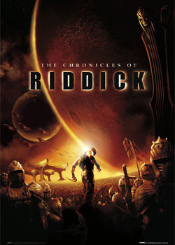 CHRONICLES OF RIDDICK - one sheet Plakát