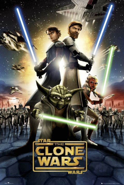 CLONE WARS - one sheet Plakát
