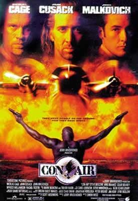 CON AIR - movie plakát