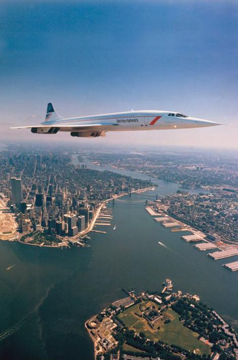 Concorde - NYC Plakát