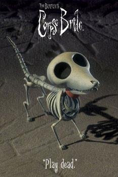 Corpse bride - dog Plakát