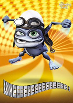 Crazy Frog - Lights Plakát