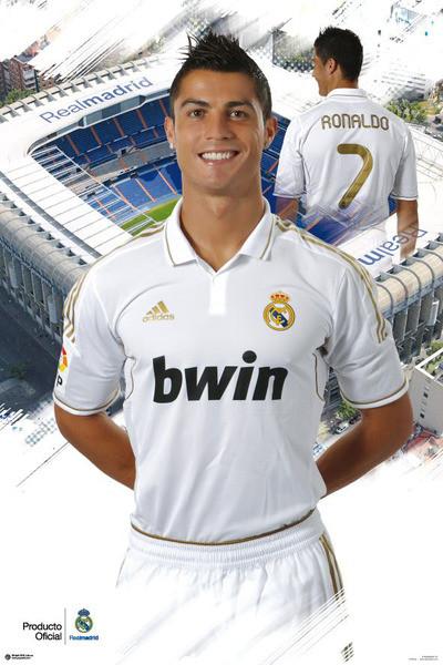Cristiano Ronaldo - real madrid Plakát
