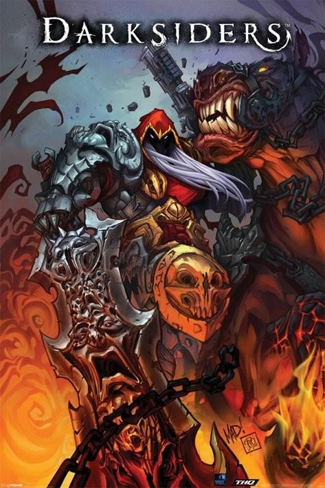 Daresiders - comicbook art  Plakát