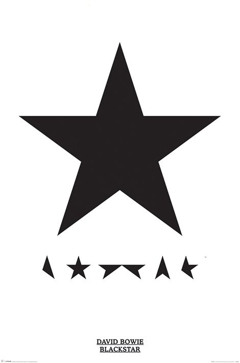 David Bowie - Blackstar Plakát