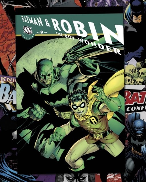 DC COMICS - batman comic covers Plakát