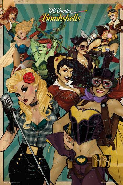 DC Comics - Bombshells Plakát