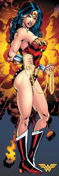 DC Comics - Justice League Wonder Woman Plakát