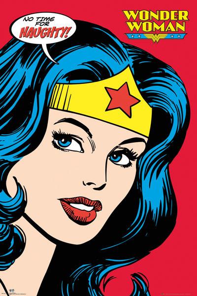 DC COMICS - wonder woman close up Plakát