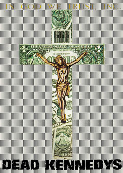 Dead Kennedys - krucifix Plakát