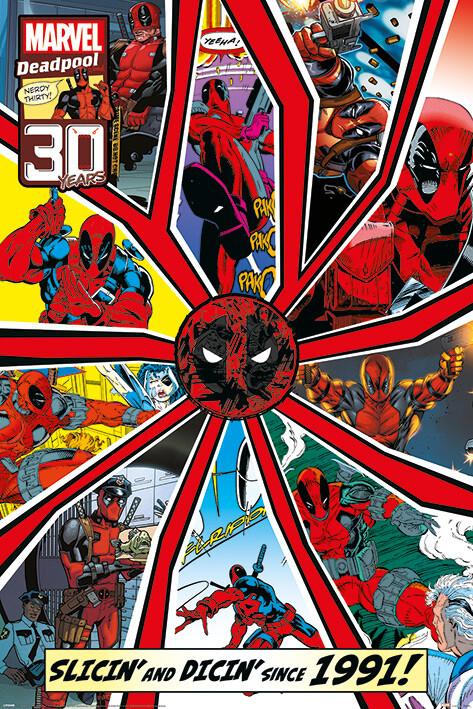 Plakát Deadpool - Shattered