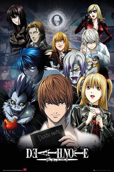 Death Note - Collage Plakát